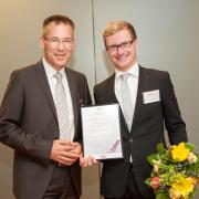 Dr. Johannes Wissman (links) mit seinem Doktorvater Prof. Dr. Manfred Krafft
