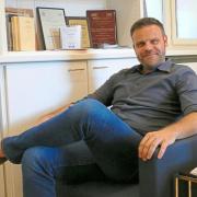 Marketing-Professor Thorsten Wiesel koordiniert den Aufbau des Exzellenz Start-up Center an der Universität Münster Foto: Karin Völker